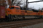 BNSF SD70ACe 8768 third out on K040-09