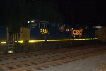 CSX ES44AH 3124 trails on Q418-05