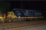 CSX GP38-2S 6151 trails on Q418-23