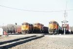 BNSF 5446, 4867, CP 9572, BNSF 4966