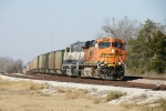 BNSF 6093 bringing PRB coal to Gibbons Creek G.S.