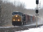 CSX 5297 eastbound at automatic signal 268