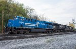 The Conrail Heritage Unit leads two other NS GE's on today's 23K