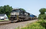 NS 7035 and two other units accelerate 23K west