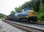 Two ex-CSX GE's lead ED-8 east