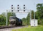 NS 7035 leads 23K west at CPF-333