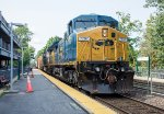 MEC 7797 and another ex-CSX C40-8W lead ED-8 east