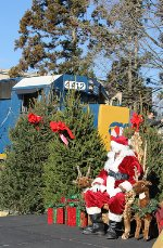 Browns Yard Santa Train