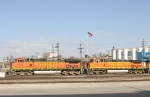 BNSF 4132 and 4154