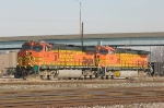 BNSF 4167 and 4139