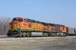 BNSF  4990 and 4673