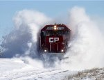 CP #6230 emerges as it hits another massive drift!
