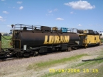 Tank car on Loram RG319