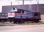 Amtrak 724 P30CH at Ivy City Shops - 1985