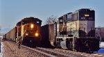 BNSF 9630 meets 8825