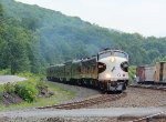 NS 4271 leads the OCS eastbound at Tyrone, PA.
