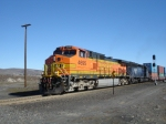 BNSF 4695 leaving Naylor siding Westbound