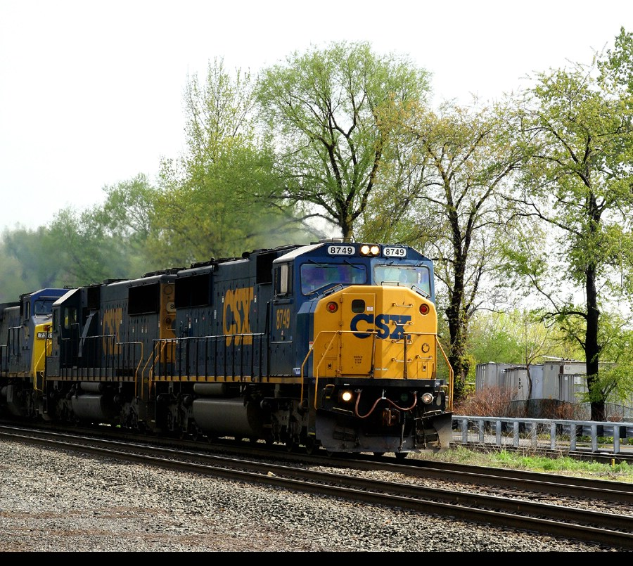 On the throttle n/b at ridgefield park station.