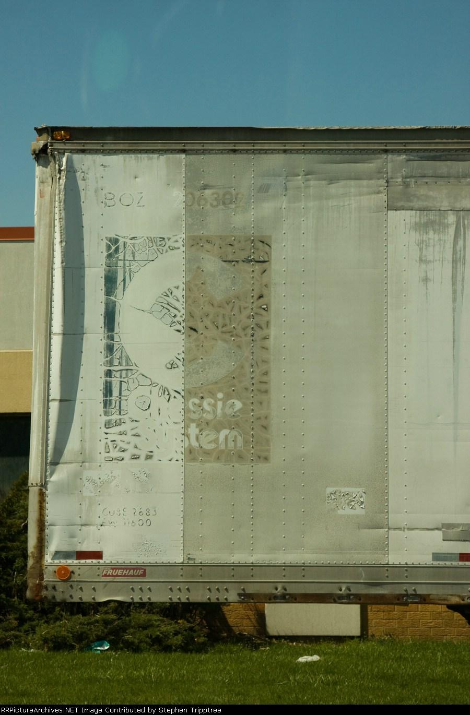 Former Chessie system trailer