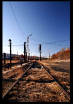 Historic Erie refueling tracks