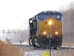 CSX 3051 leads eastbbound light engine move at MP 378
