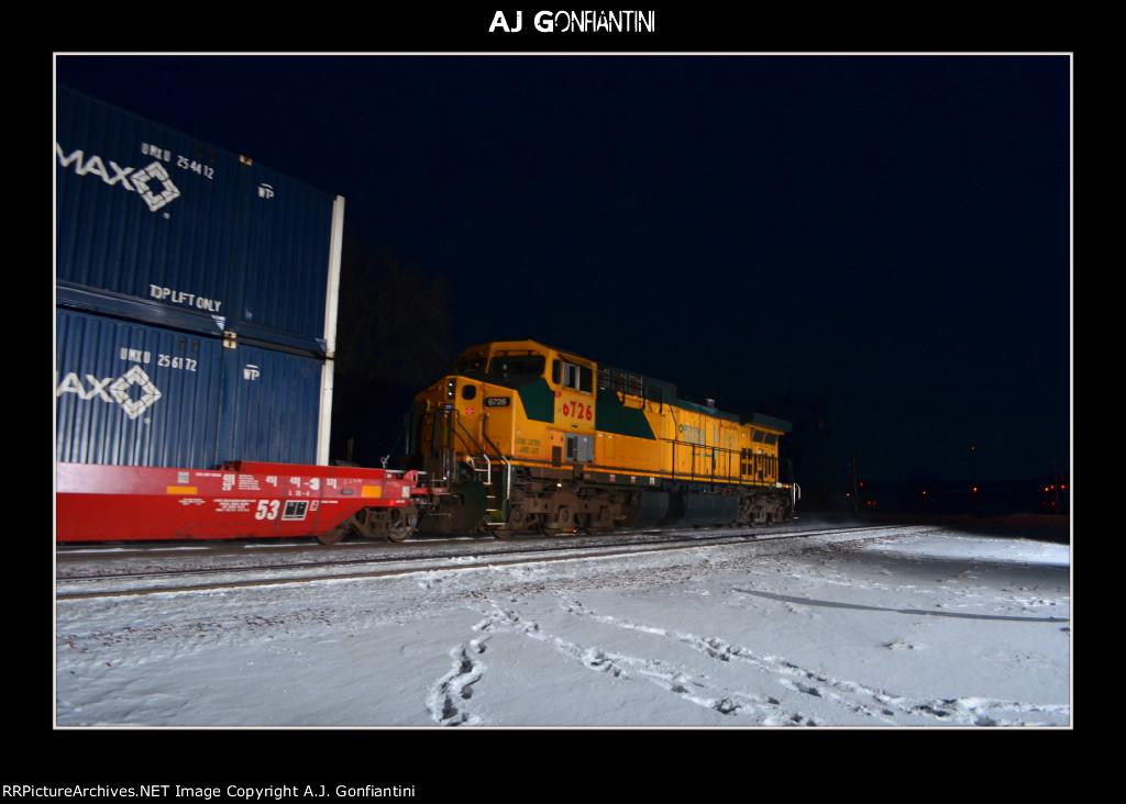 UP 6726 on DPU.