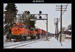 BNSF 7524 & 6515