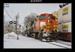 BNSF 4344 & 9636