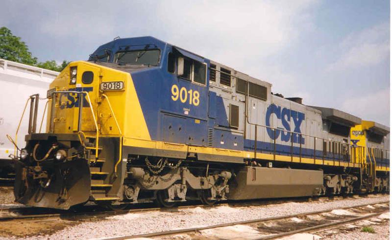 Power on a coal train