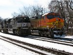 NS 1016 and BNSF 5181