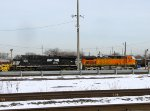 NS 8022 and BNSF 5684