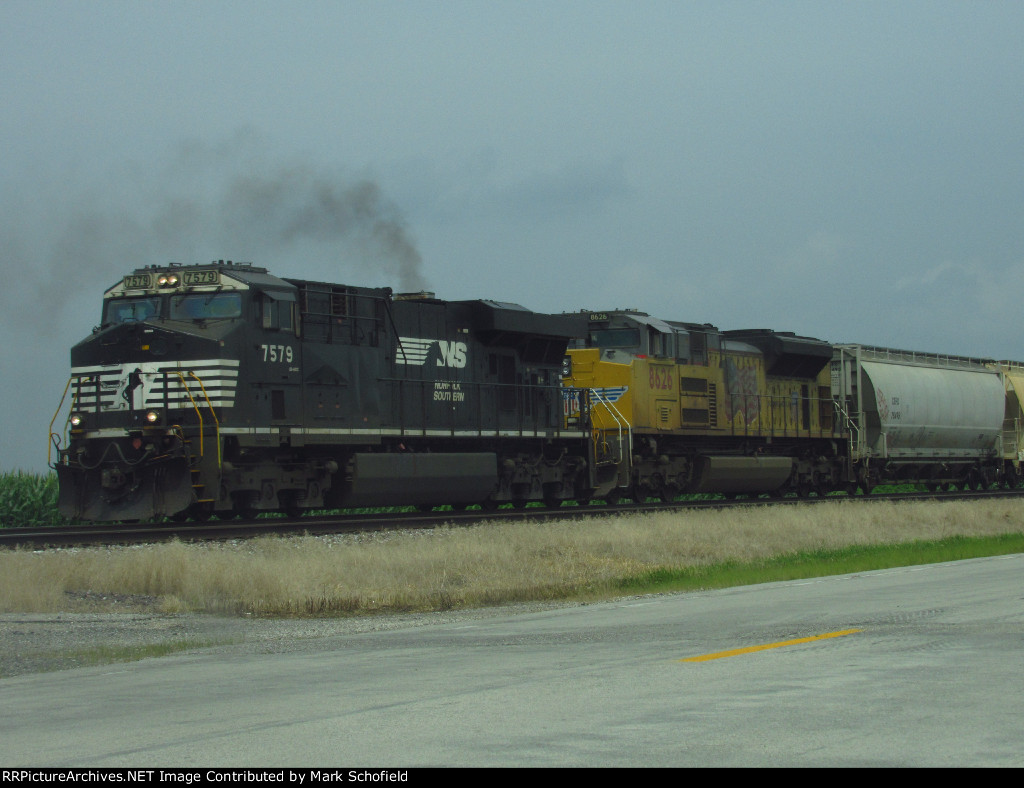 NS 7579 and UP 8626