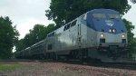 Amtrak 63 at Springfield, IL