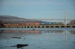 CSX Q433 at Iona Island