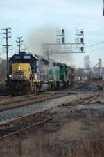 Q359 rolling past USS ET Plant