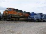 BNSF 1080 &  PTRA 9630