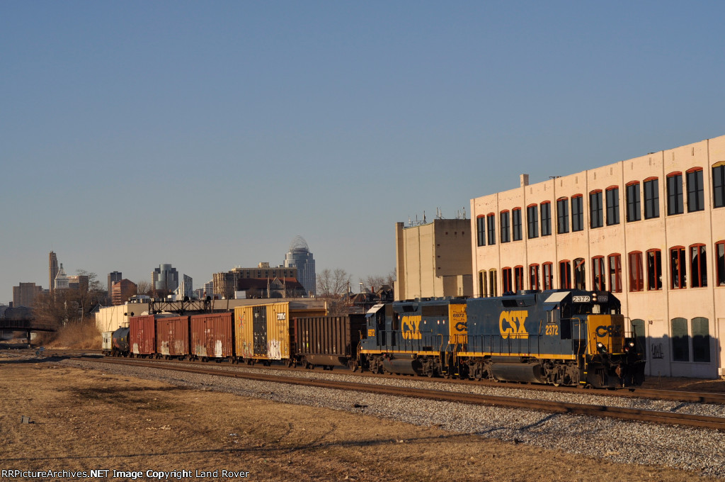 CSXT 2372 On CSX Y 237 Northbound