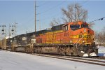 BNSF 4529 On NS 289 Southbound