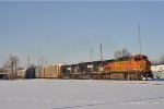 BNSF 4529 On NS 289 Eastbound