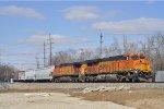 BNSF 6597 On CSX Q 507 Eastbound