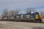 CSXT 2289 On CSX J 782 Eastbound