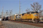 UP 4534 On CSX Q 243 Southbound