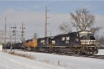 NS 6722 On NS 177 Southbound