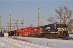 NS 7709 On NS I 5 A Southbound
