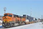 BNSF 6597 On CSX Q 133 Eastbound