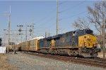 CSXT 979 On CSX Q 241 Southbound