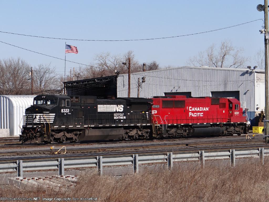 NS 8322 & CP 6231