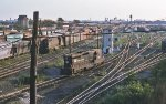 Pavonia Yard from 27th St ca. 1977