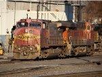 BNSF 618 & BNSF 6679