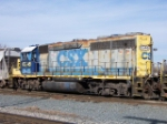 CSX 6346, looking a little rough